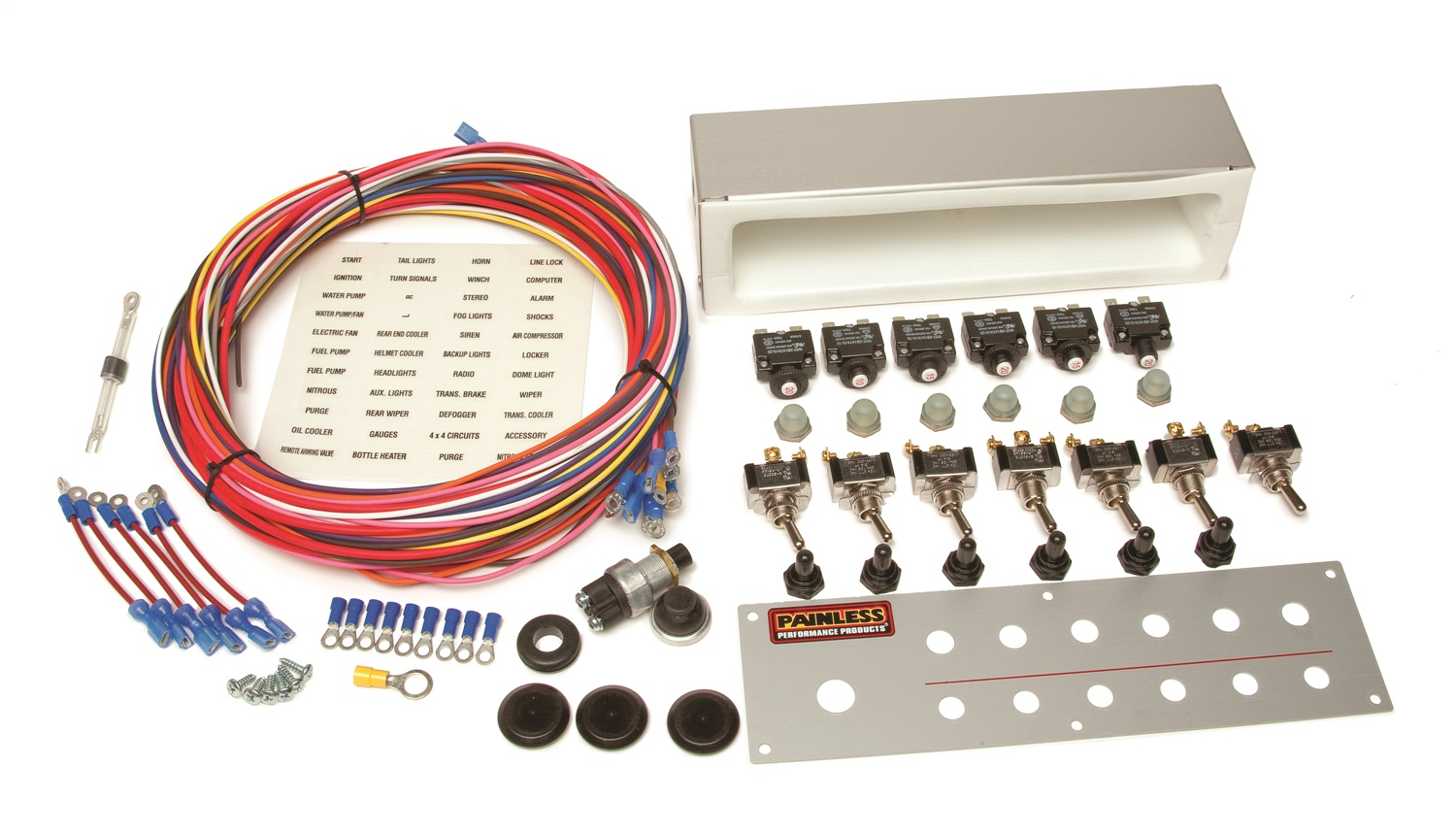 Painless Wiring 50337 Off-Road Toggle Switch Kit