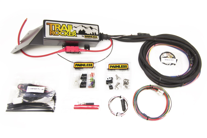Painless 57024 Trail Rocker System Jeep CJ 1976-86 w/o Switch Box