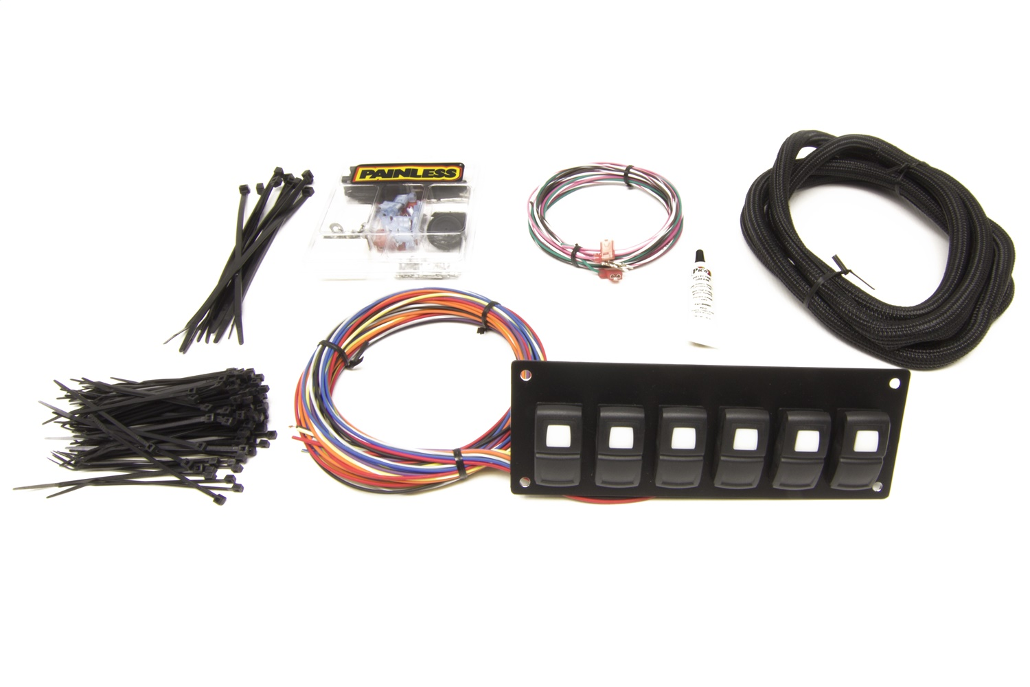 Painless Wiring 58104 Track Rocker 6-Switch Panel
