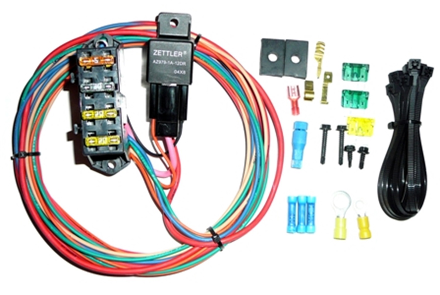 Painless Wiring 70114 3-Circuit High Amperage Auxiliary Fuse Block