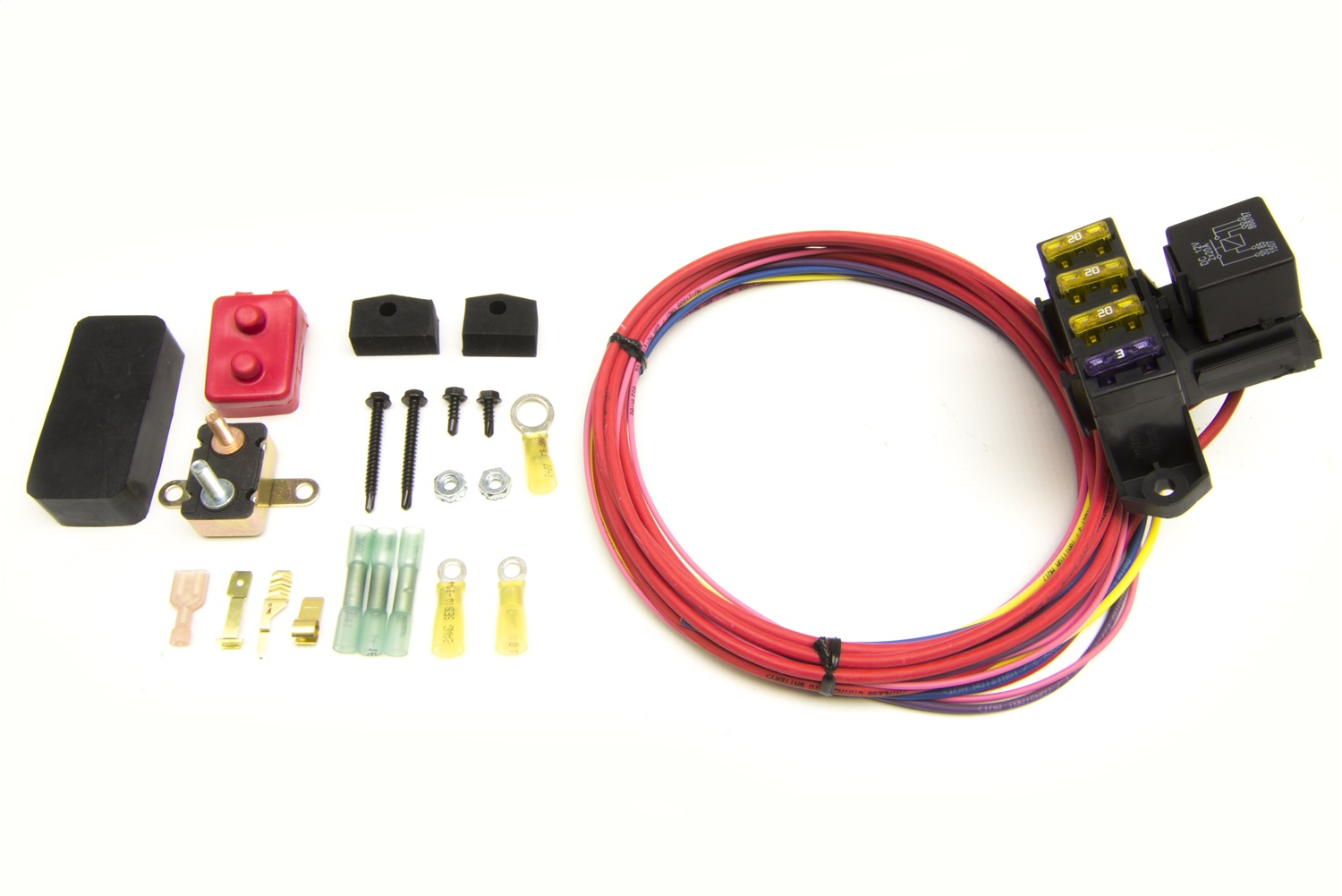 Painless Wiring 70203 3-Circuit Weather Resistant Fuse Block