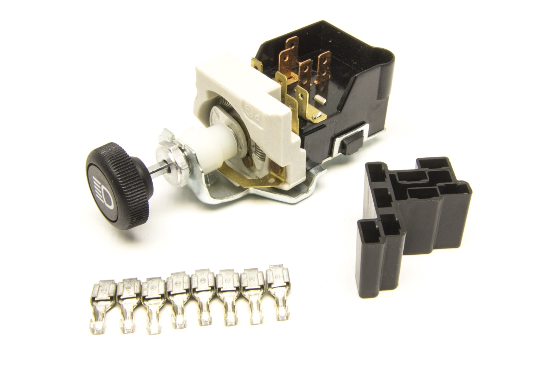 Painless Wiring 80152 Headlight Switch w/GM Style Black Knob