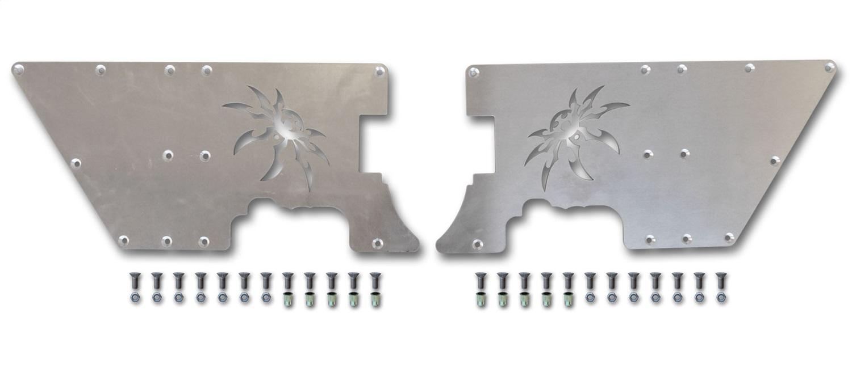 Poison Spyder 14-02-052 DeFender Full Length Side Plates Fits 97-06 TJ Wrangler