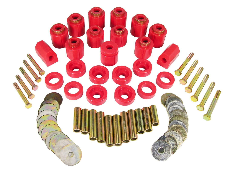Prothane 1-113 Body Lift Kit Fits 87-95 Wrangler