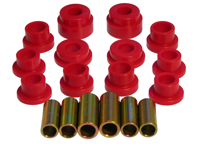 66-76 2002 2002ti 2002tii Red Prothane 3-201 Control Arm Bushing Kit