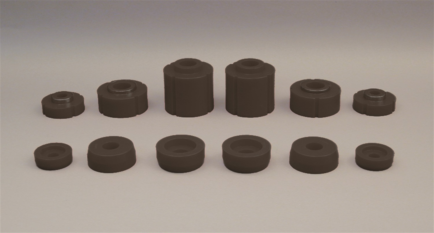 Prothane 6-108-BL Body And Cab Mount Bushing Kit Fits 80-96 F-150 F-250 F-350