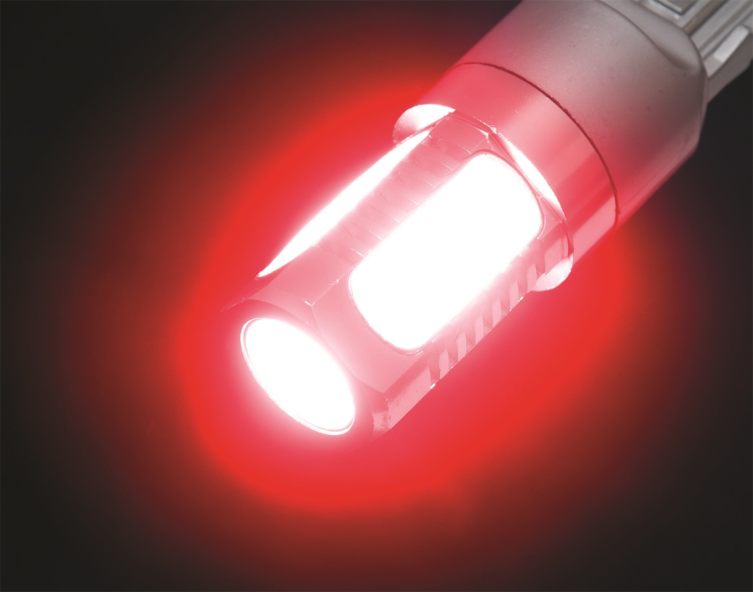 Red Putco 360° LED Replacement Bulbs 3157