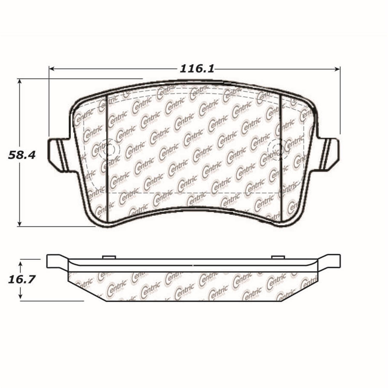 StopTech 104.13860 Disc Brake Pad Fits 08-11 A4 A4 Quattro A5 A5 Quattro Q5