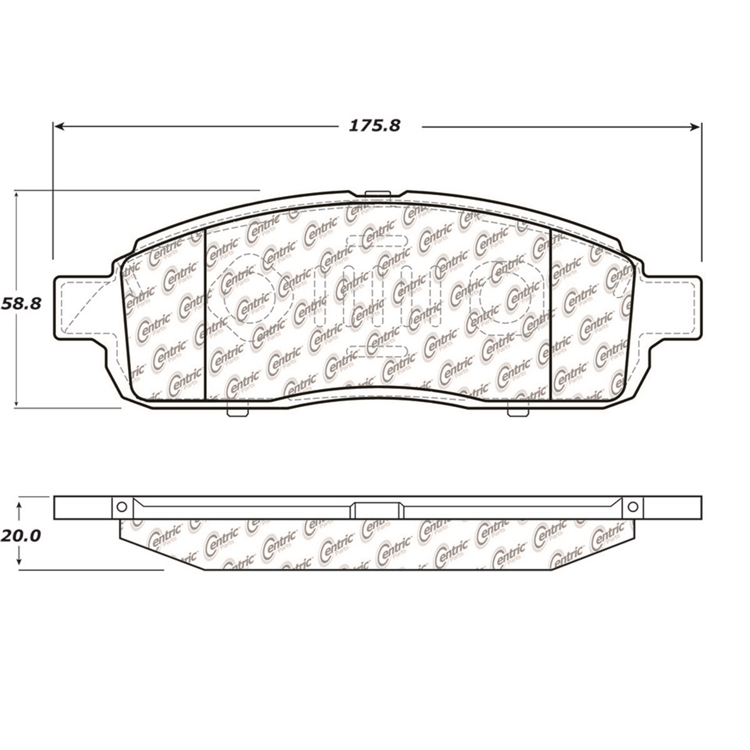 StopTech 104.13920 Disc Brake Pad Fits 09 F-150