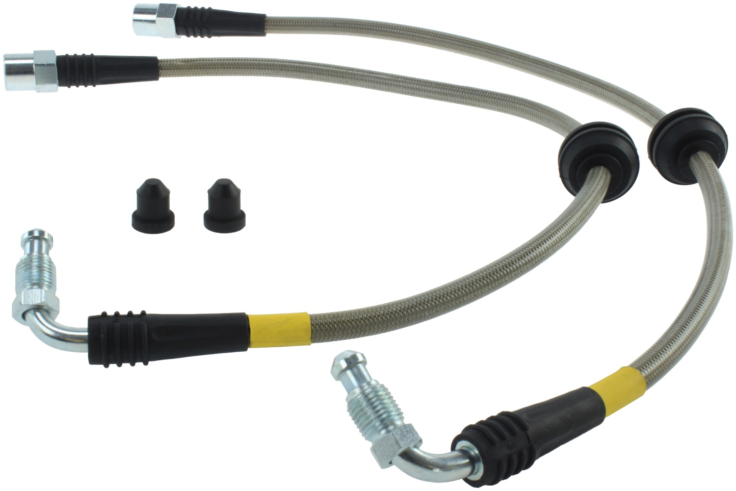 StopTech 950.33005 Stainless Steel Braided Brake Hose Kit Fits 04-08 RS4 RS6