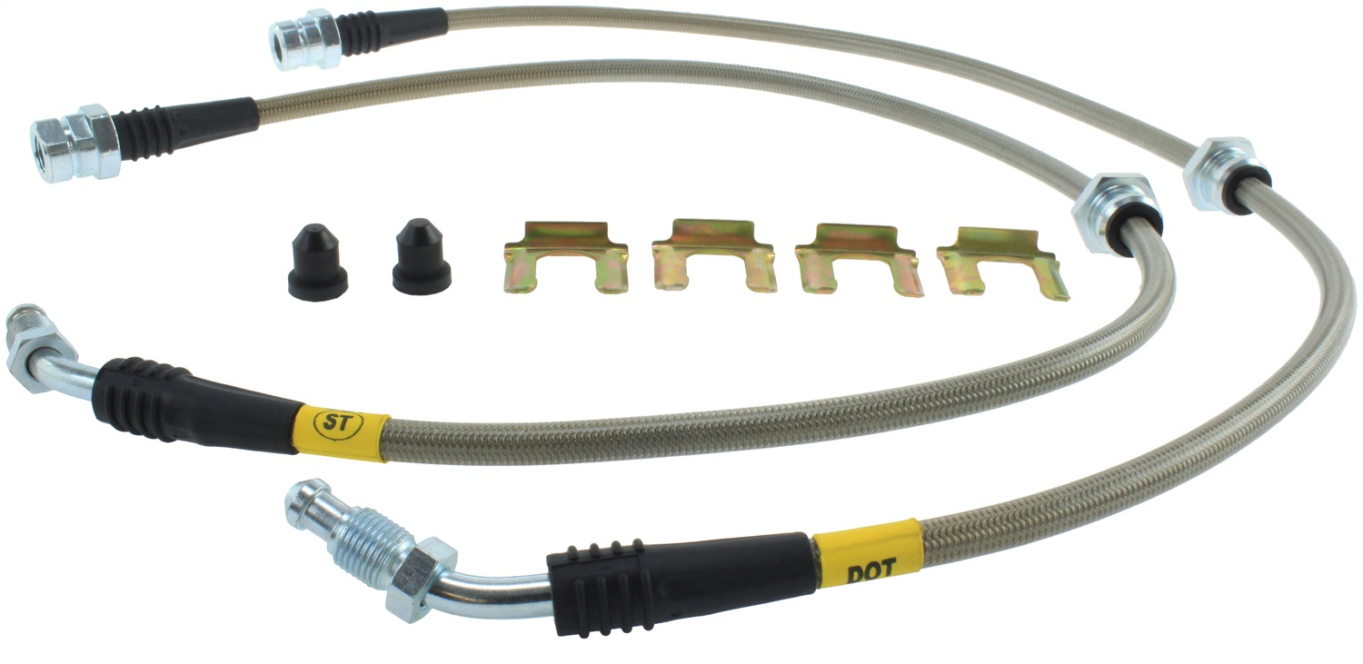 StopTech 950.33013 Stainless Steel Braided Brake Hose Kit Fits 04 Golf