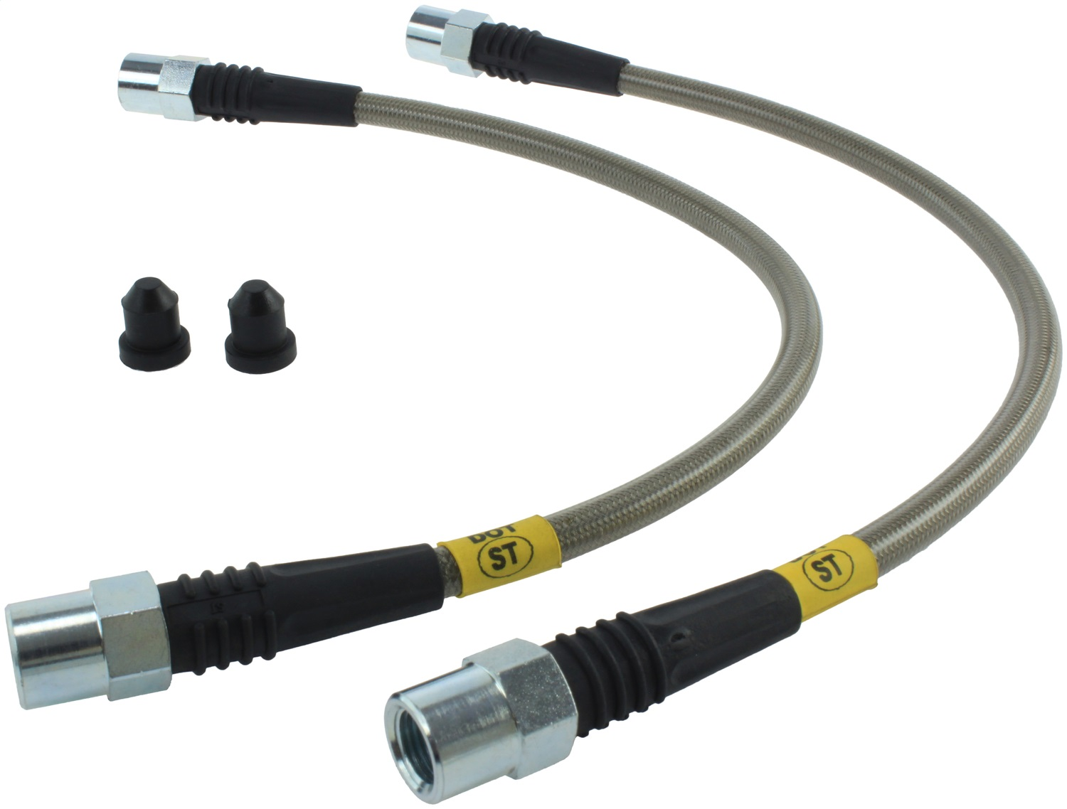 StopTech 950.33018 Stainless Steel Braided Brake Hose Kit Fits A6 A6 Quattro S6