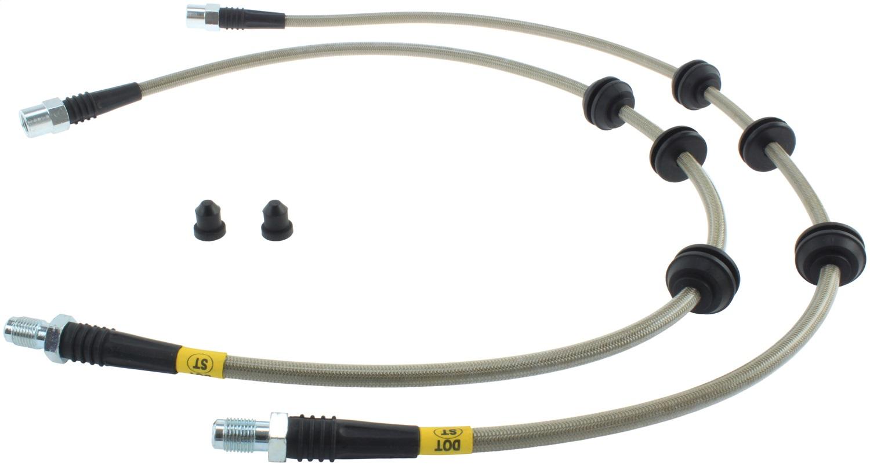 StopTech 950.34030 Stainless Steel Braided Brake Hose Kit
