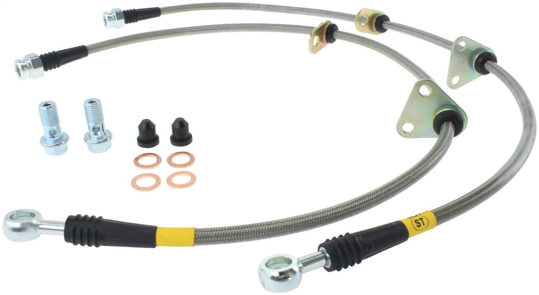 StopTech 950.40000 Stainless Steel Braided Brake Hose Kit