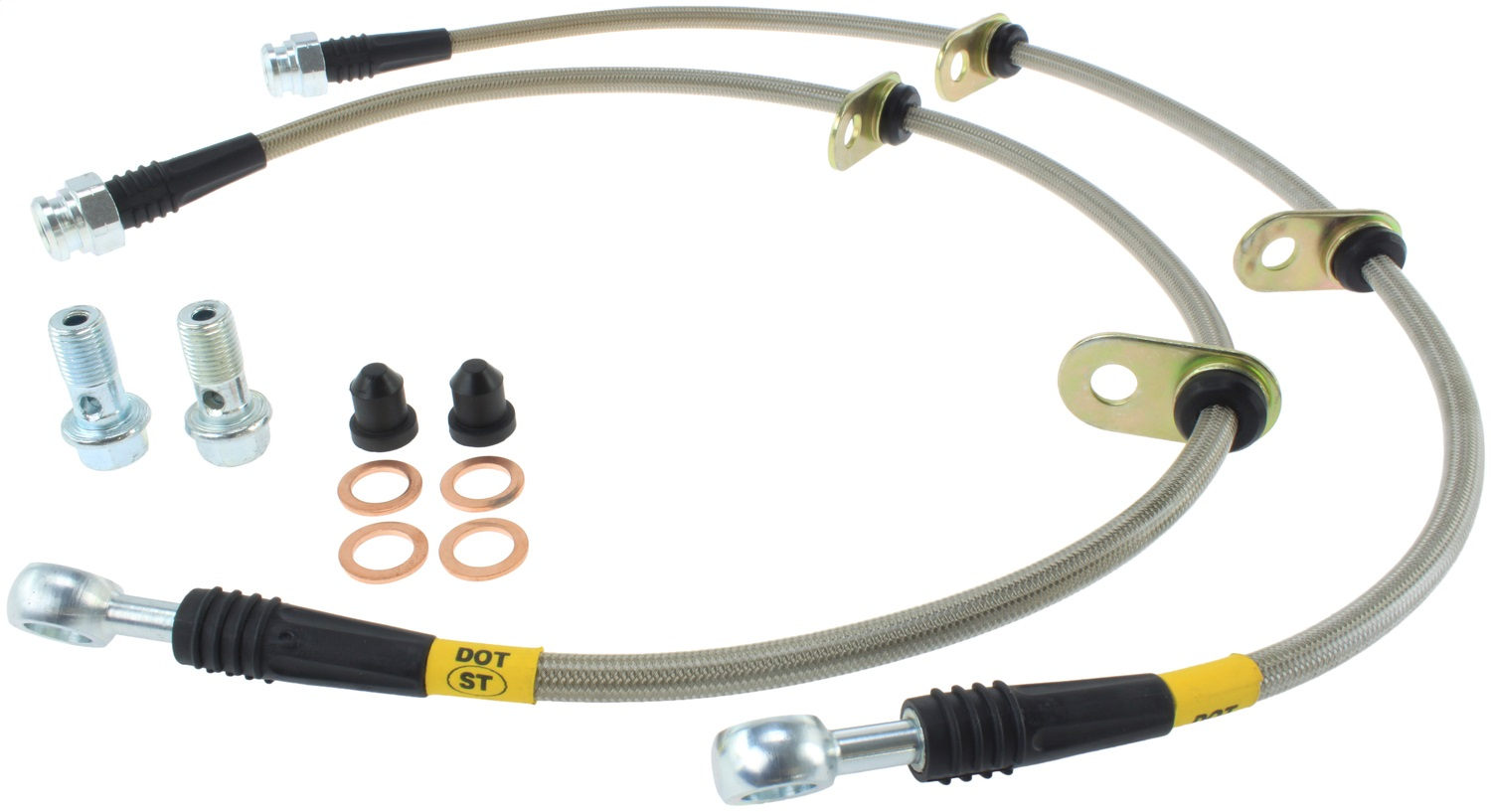 StopTech 950.40001 Stainless Steel Braided Brake Hose Kit Fits 91-05 NSX