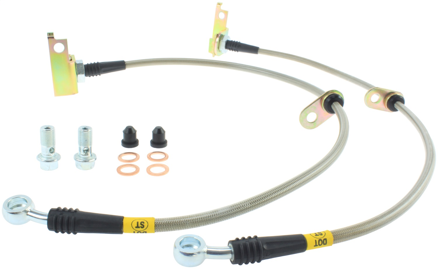 StopTech 950.40018 Stainless Steel Braided Brake Hose Kit Fits 09-15 CR-Z Fit