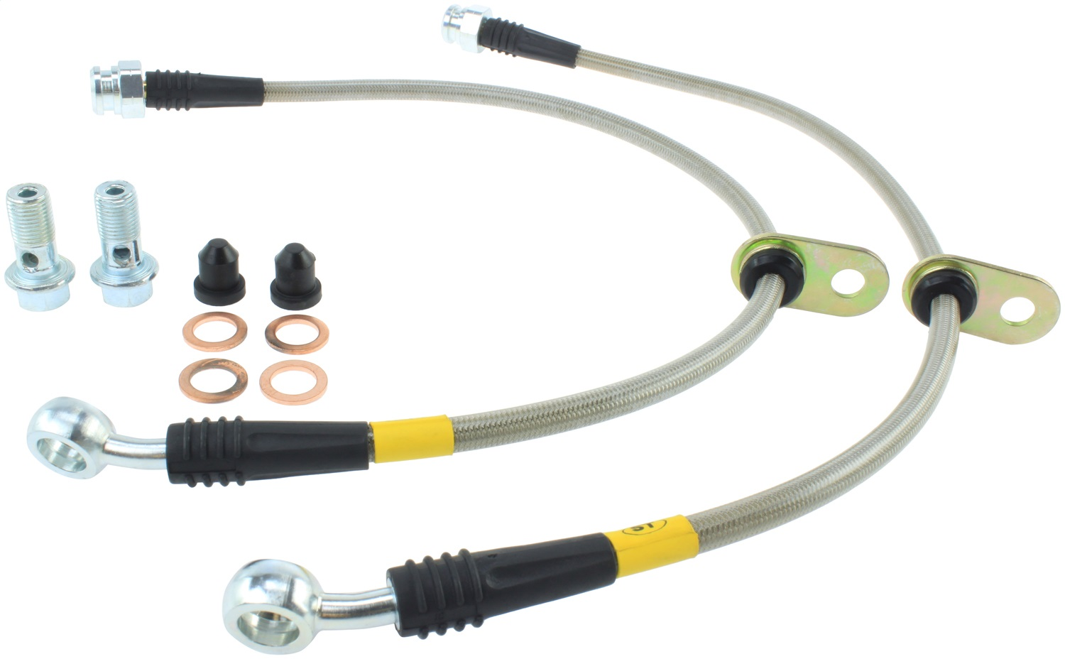 StopTech 950.40507 Stainless Steel Braided Brake Hose Kit Fits 97-01 Prelude