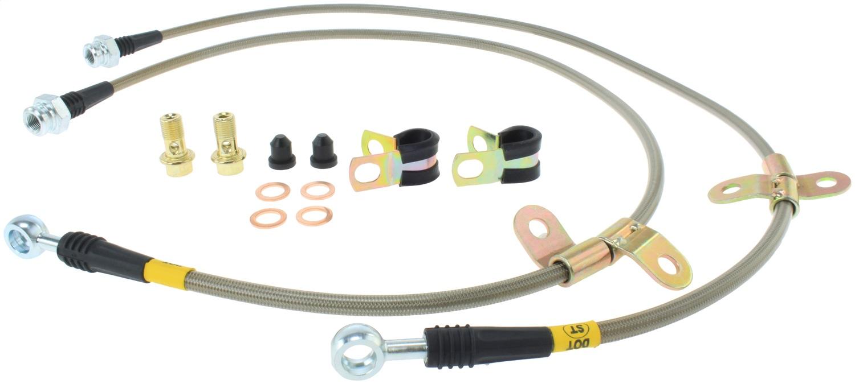 StopTech 950.42012 Stainless Steel Braided Brake Hose Kit