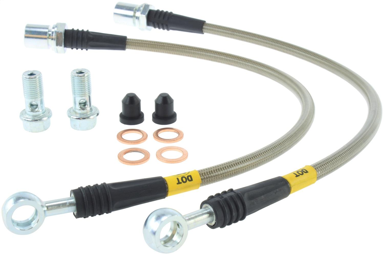 StopTech 950.44001 Stainless Steel Braided Brake Hose Kit