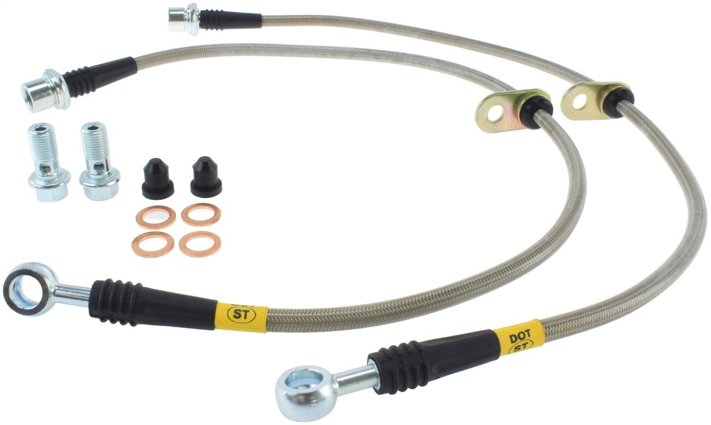 StopTech 950.44005 Stainless Steel Braided Brake Hose Kit