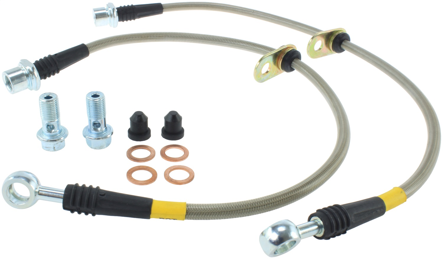 StopTech 950.44016 Stainless Steel Braided Brake Hose Kit Fits 05-15 Tacoma