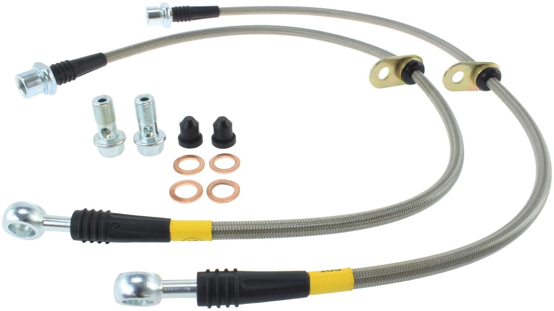 StopTech 950.44511 Stainless Steel Braided Brake Hose Kit