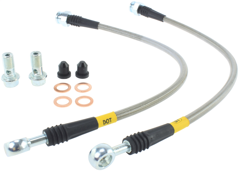StopTech 950.45008 Stainless Steel Braided Brake Hose Kit Fits 90-05 Miata
