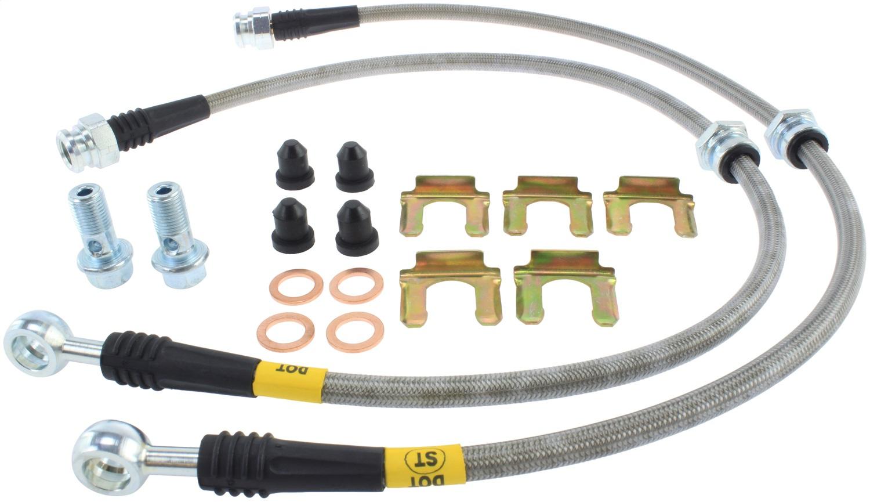 StopTech 950.46005 Stainless Steel Braided Brake Hose Kit Fits 02-07 Lancer