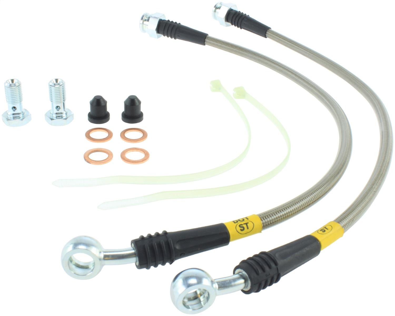 StopTech 950.58000 Stainless Steel Braided Brake Hose Kit
