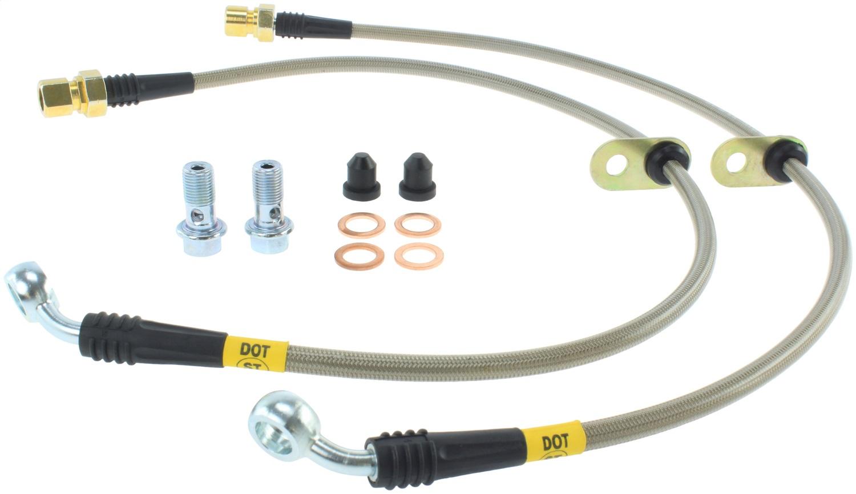 StopTech 950.62011 Stainless Steel Braided Brake Hose Kit Fits 10-15 Camaro