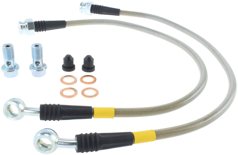 StopTech 950.62500 Stainless Steel Braided Brake Hose Kit Fits 97-04 Corvette