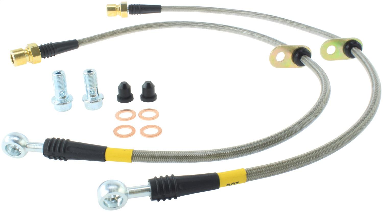 StopTech 950.62509 Stainless Steel Braided Brake Hose Kit Fits 10-15 Camaro