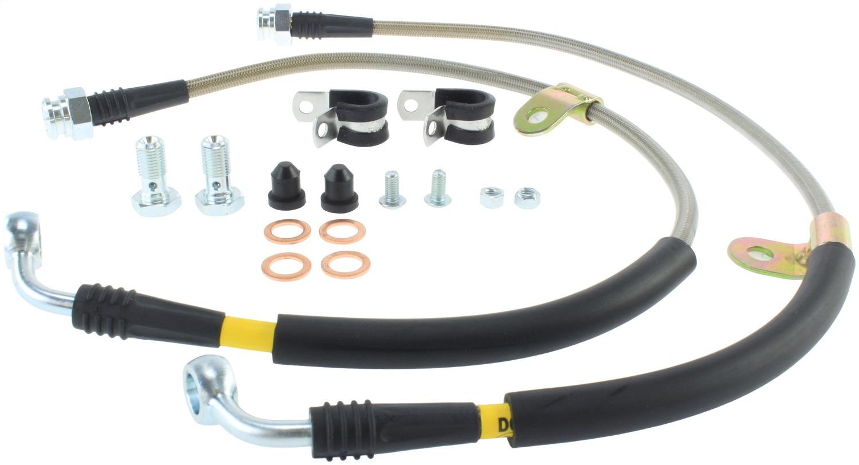 StopTech 950.65003 Stainless Steel Braided Brake Hose Kit