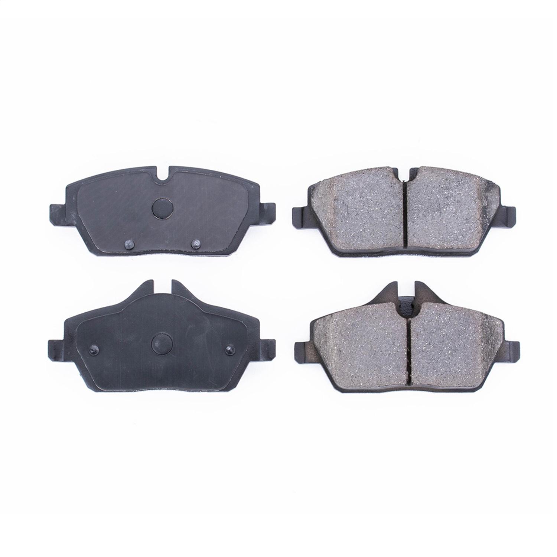 + Hardware Kit FRONT SET Posi Quiet Semi Metallic Brake Disc Pads 104.14030