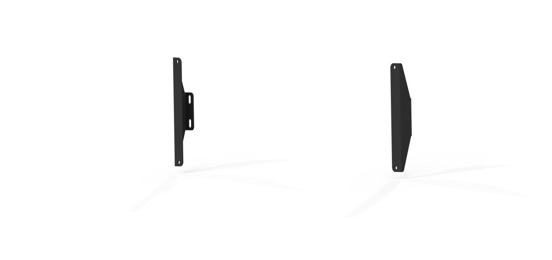 TRECK Traction Board Brackets, Texture Black