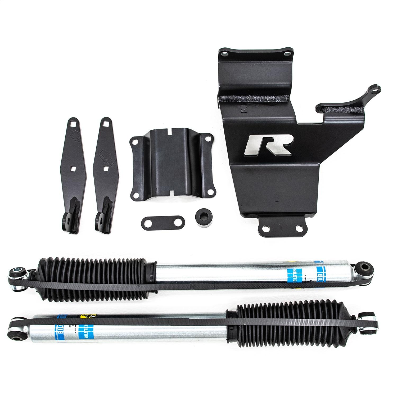 ReadyLift 77-2520 Dual Steering Stabilizer w/Bilstein Shocks