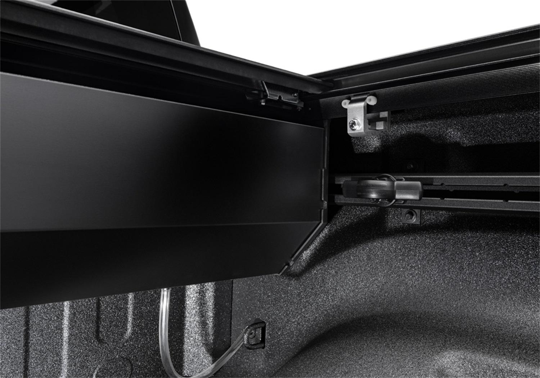 RetraxPRO MX Retractable Tonneau Cover, Rugged Aluminum Construction, Textured Matte Black