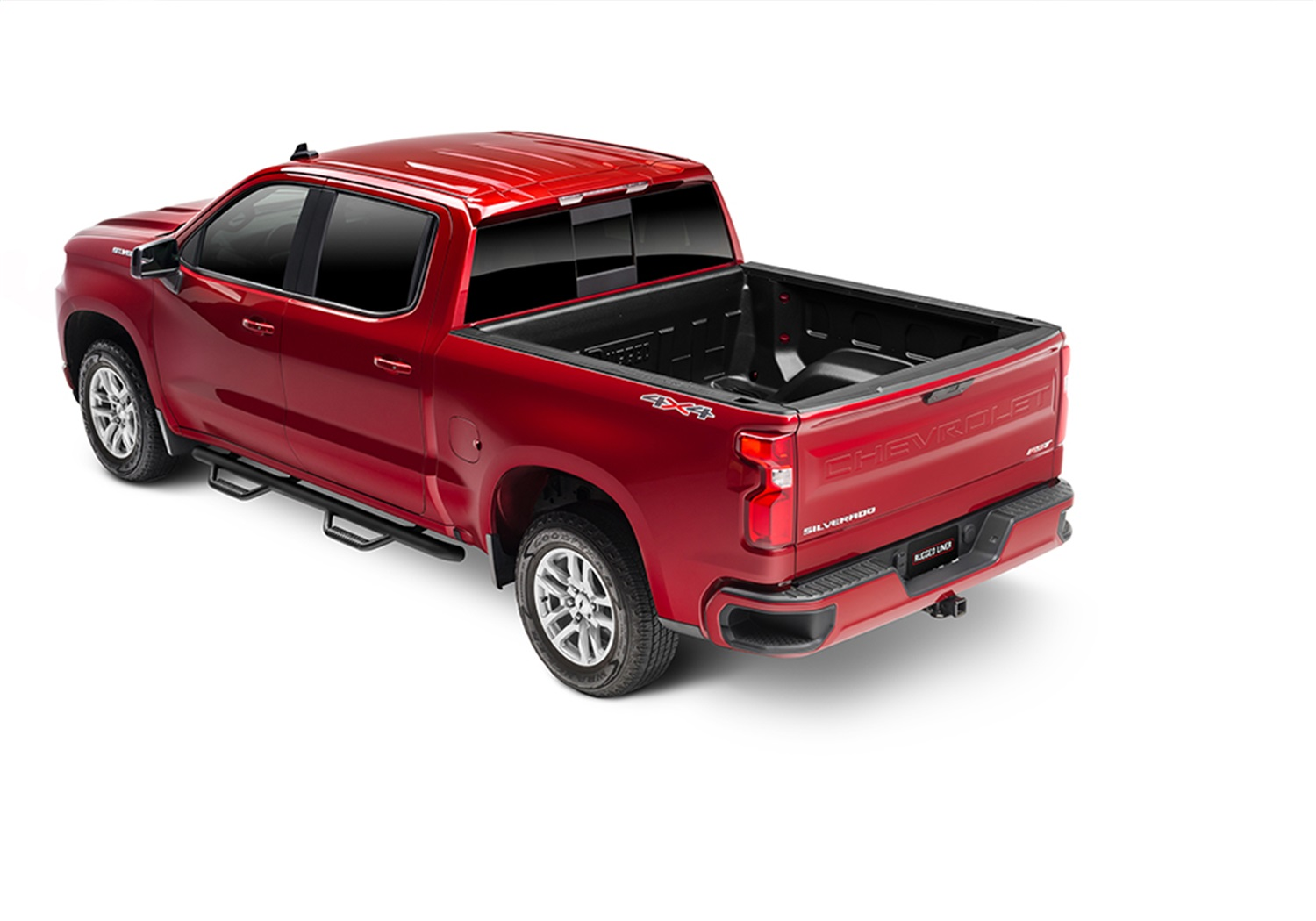 Rugged Liner Under Rail Bed Liner, Incl. Bedliner, Tailgate Cover, w/Tailgate Spoiler, w/RamBox, w/o Cargo Light