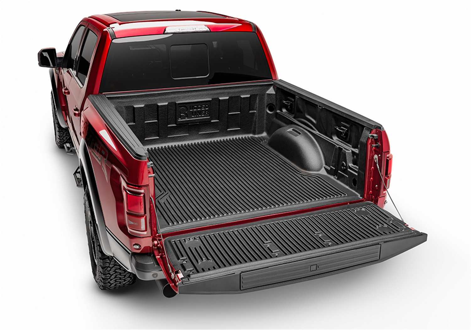 Rugged Liner Under Rail Bed Liner, Incl. Bedliner, Tailgate Cover, Hardware, w/o Cargo Channel System