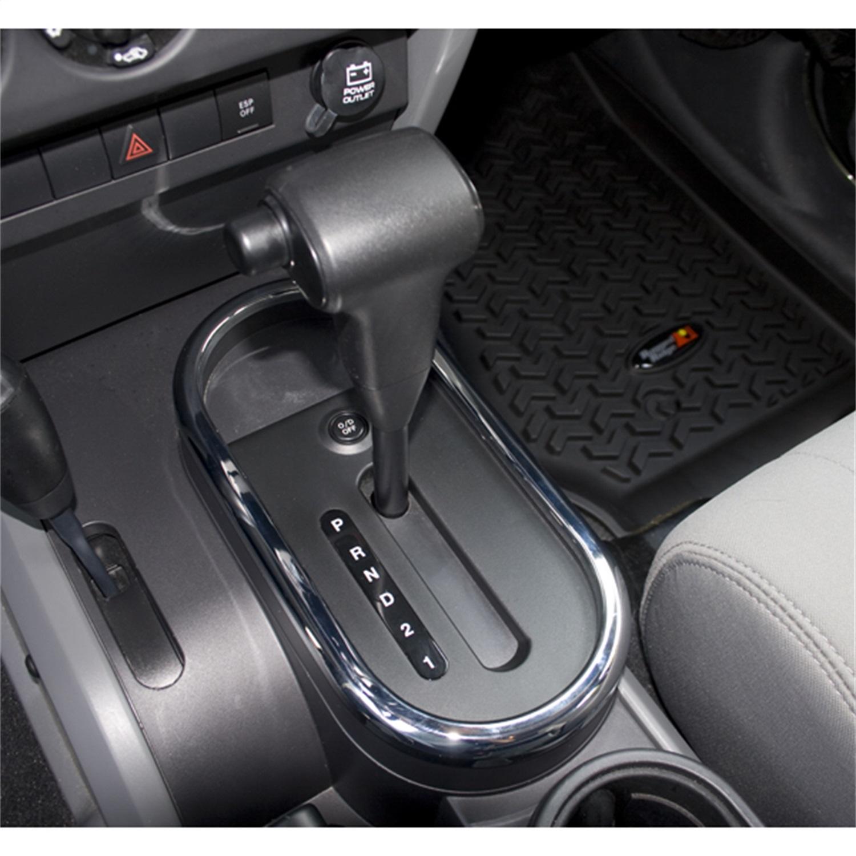 Rugged Ridge 11156.02 Auto Trans Shifter Bezel Trim Fits 07-10 Wrangler (JK)