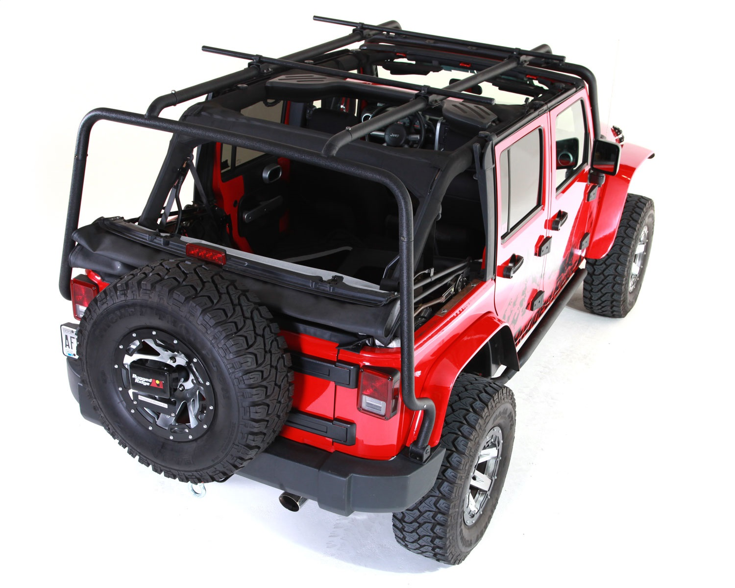 Rugged-Ridge-11703-02-Sherpa-Roof-Rack-Fits-07-18-Wrangler-JK miniature 2