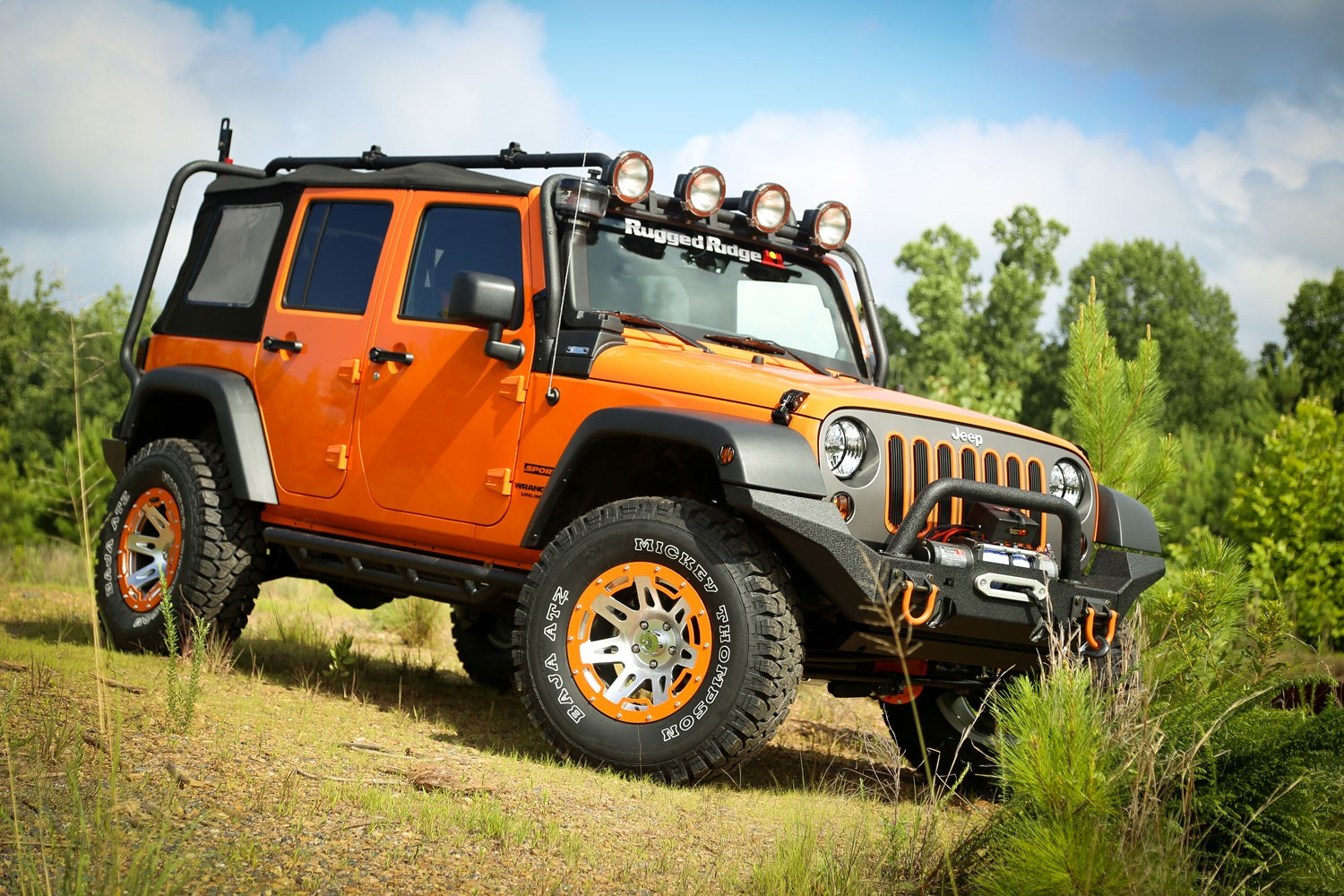 Rugged-Ridge-11703-02-Sherpa-Roof-Rack-Fits-07-18-Wrangler-JK miniature 4