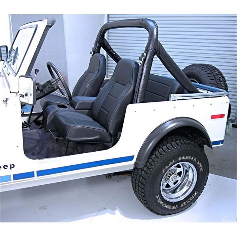 New Rugged Ridge Standard Replacement Seat Jeep Tj Wrangler Cj7 Cj5 Frame Repair Scrambler Xp