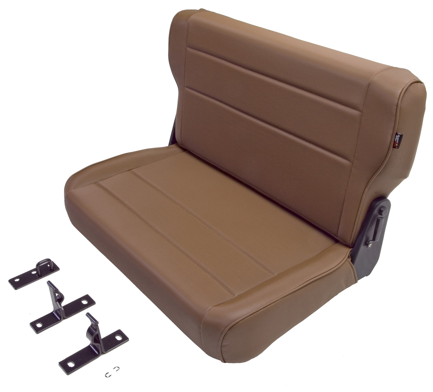 Rugged Ridge 13462.04 Tan Fold and Tumble Rear Seat