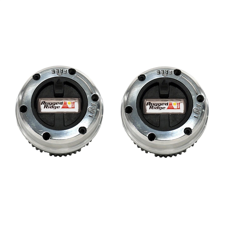 Rugged Ridge 15001.18 Manual Trans Axle Locking Hub Kit