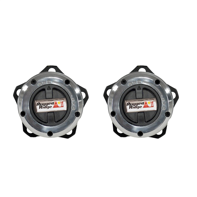 Rugged Ridge 15001.26 Manual Trans Axle Locking Hub Kit Fits 81-86 CJ7 Scrambler