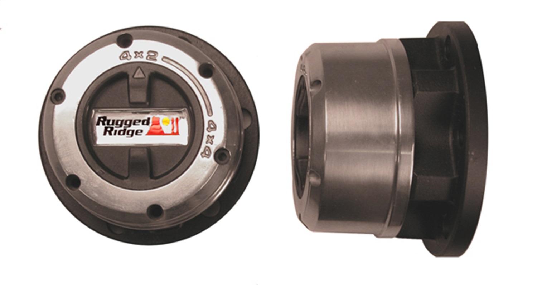 Rugged Ridge 15001.43 Manual Trans Axle Locking Hub Kit Fits Montero Raider