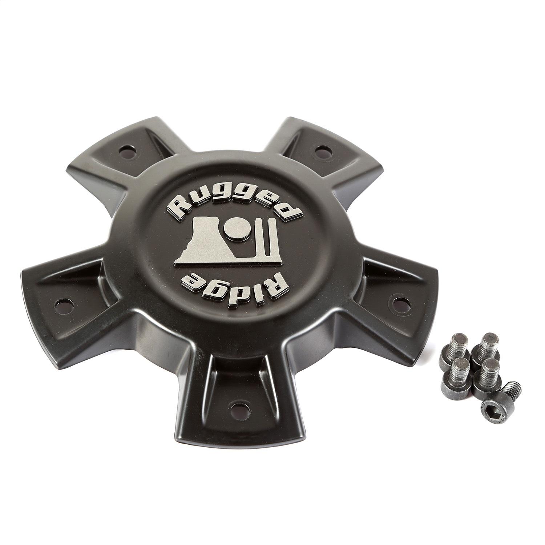 Rugged Ridge 15500.90 Center Cap Fits Gladiator Wrangler (JK) Wrangler (JL)