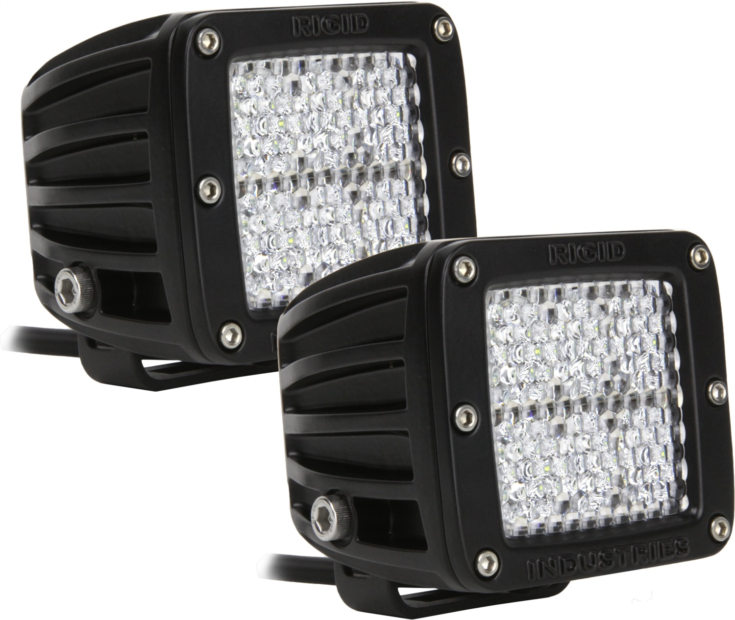 Rigid Industries 20251 D-Series Dually 60 Deg. Diffusion LED Light