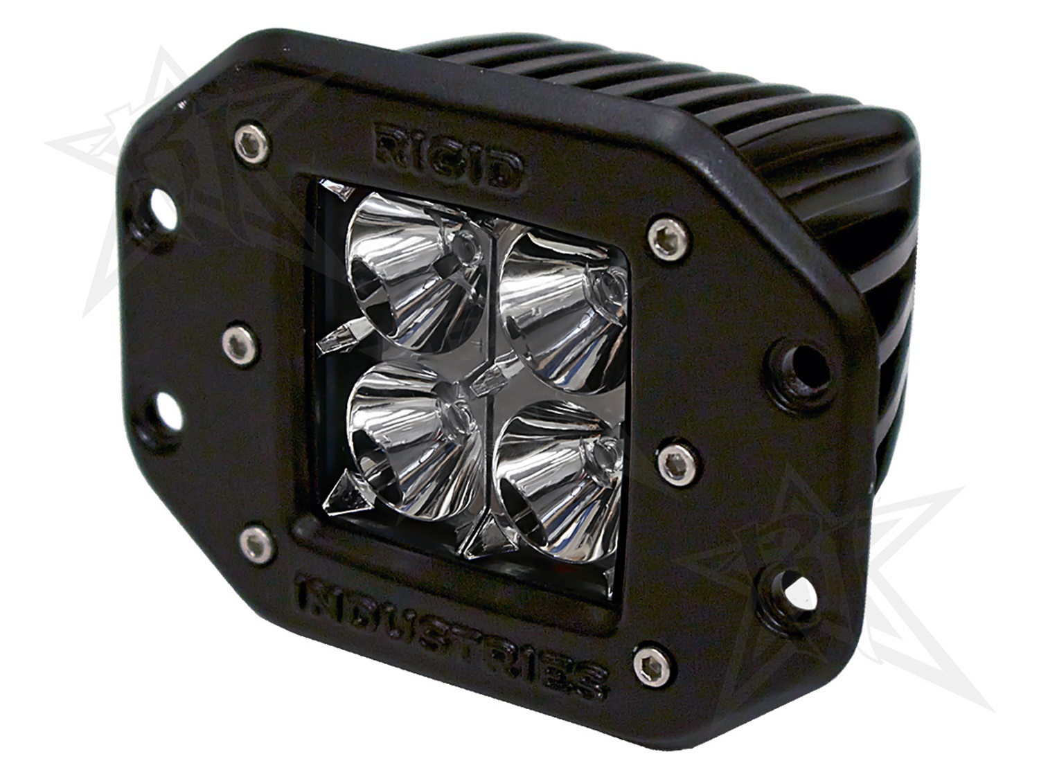 Rigid Industries 21211 D-Series Dually 20 Deg. Flood LED Light